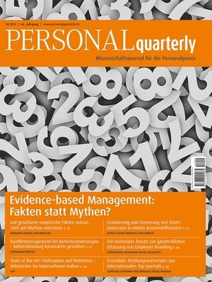 PERSONAL quarterly Ausgabe 4/2012 | PERSONALquarterly