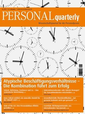 Personal Quarterly 4/2014   PERSONALquarterly