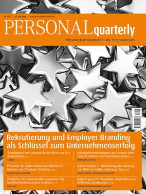 PERSONALquarterly 4/2017 Rekrutierung   PERSONALquarterly