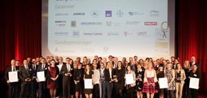 Die Preisträger des Corporate Health Awards 2017