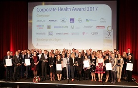 Preisträger des Corporate Health Awards 2017