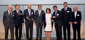 SCF - Green-Controlling-Preis 2016 geht an Bosch und DATEV