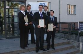 Preisverleihung auf der Controlling Innovation Berlin 2011