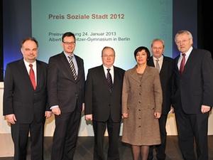 """Preis """"Soziale Stadt 2012"""" in Berlin verliehen"""