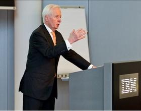 Prof. Dr. Péter Horváth auf der Controlling Competence Stuttgart