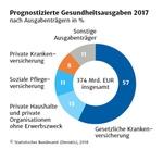 Prognostizierte Gesundheitsausgaben 2017