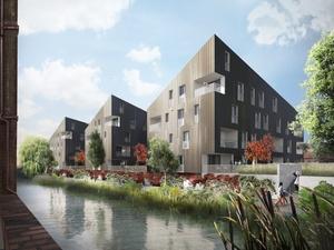 Projekt: Baustart für IBA-Wohnprojekt im Harburger Binnenhafen