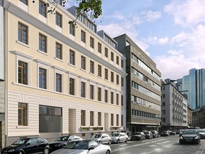 Umbau an Mostaf-Haus in Frankfurt startet