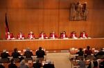 Prozess im Bundesverfassunggericht