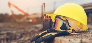 Corona-Prävention auf Baustellen
