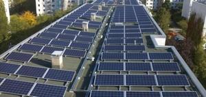 Vonovia: Solarstrom für Mieter fließt vorerst ins Netz