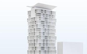 Quartier Grand Central Frankfurt Wohnturm Mecanoo Architekten