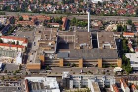 Quelle-Areal Nürnberg Luftbild