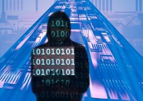 Cyberkriminalitaet - Kollage