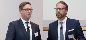 Die Referenten Dr. Johannes Isensee und Jürgen Marschik