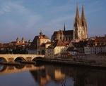 Regensburg, Altstadt mit Donau