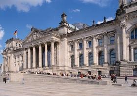 Reichstagsgebaeude, Berlin, Deutschland