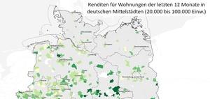 Wohninvestment: Hohe Renditen in Sachsen und Sachsen-Anhalt