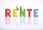 Rentner, Rente, Buchstaben
