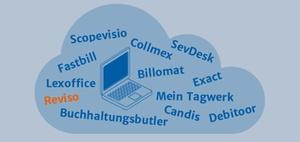 Online-Buchhaltung Mandant und Steuerberater: Reviso