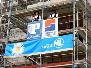Projekt: Richtfest für 224 Wohnungen in Hamburg-Lurup