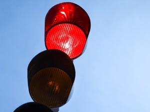 Geschätzter Rotlichtverstoß - auch Polizisten können irren