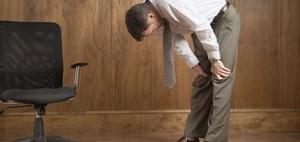 Rückenprävention: Mit gutem Beispiel voran gehen