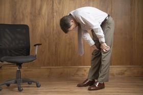 Rückenschmerzen im Büro