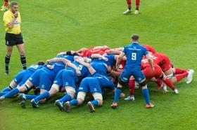 Rugby Scrum Gedränge