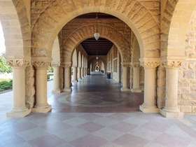 Säulengang der Stanford University