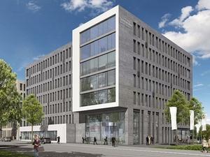 Projekt: Richtfest für SGBDD-Zentrale im Hafen Offenbach