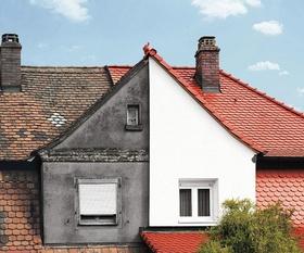Sanierung Haus alte Hälfte neue Hälfte
