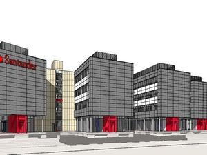 Santander bekommt neue Büros in Mönchengladbach