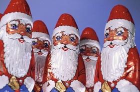 Schätzen: Weihnachtsmänner