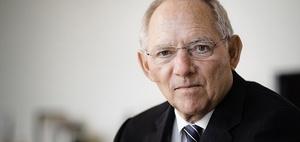Schäuble äußert sich zu steuerpolitischen Themen