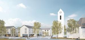 Bauverein Breisgau und Gemeinde Schallstadt planen neue Ortsmitte