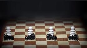 Rassismus Diskriminierung Schach weiß schwarz