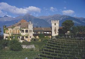 Schloss Rumetz, Meran, Suedtirol, Italien