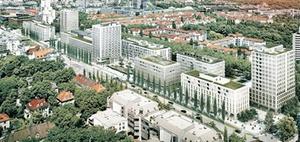 """München: """"Schwabinger Tor"""" lockt Mieter mit neuem Wohnkonzept"""