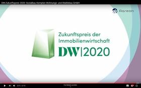 Screenshot DW-Zukunftspreis 2020