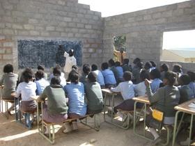 Sekundarschule in Mulanga (Sambia)