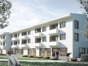 Projekt: Bauverein Breisgau feiert Richtfest für Seniorenzentrum