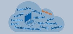 Online-Buchhaltung Mandant und Steuerberater: SevDesk