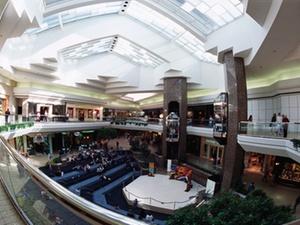 Shopping-Center puschen Einzelhandelsinvestments