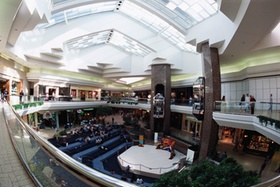 Shopping-Center innen