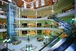 Shopping Center Innenansicht