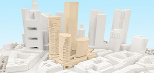Vier Hochhäuser für Frankfurt: Planung für Deutsche-Bank-Areal
