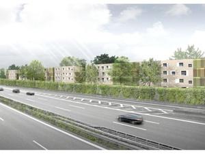Quartiersaufwertung: Neubau 440 Wohnungen soziale Einrichtungen