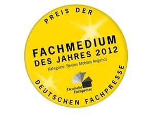 """""""Steuer1"""" ist Fachmedium des Jahres 2012"""