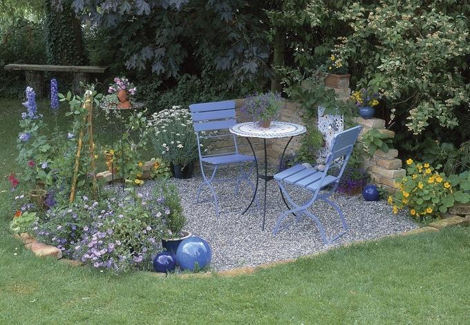 Kies Statt Rasen Kann Zulässige Gartengestaltung Sein